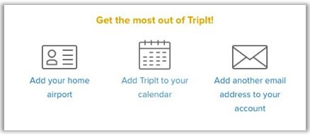 how to add email to tripit